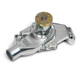GM Small Block Weiand Action +Plus Water Pump - Polished 9208P