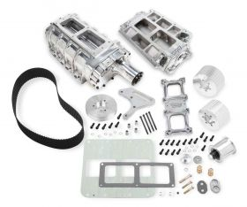 55-86 GM Small Block Weiand 6-71 Supercharger Kit - Polished 7587P