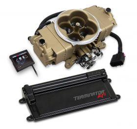 Holley Terminator Stealth EFI w/ GM Transmission Control - Classic Gold Finish 550-445