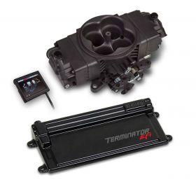 Holley Terminator Stealth EFI w/ GM Transmission Control - Hard Core Gray 550-443