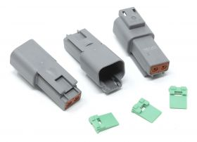 Eastwood Crimp-Right 3 Piece Two Cavity Deutsch Receptacle Connector
