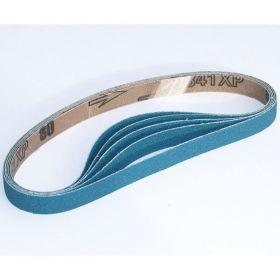 Norton 80 Grit Blue Fire 3/8 x 13 Sanding Belts