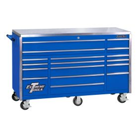Extreme Tools 72IN Pro Roller Cab Blue EX7217RCBL
