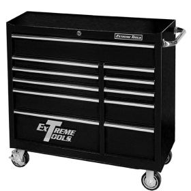 Extreme Tools Roller Cabinet Black PWS4124RCTXBK