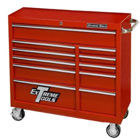 Extreme Tools Roller Cabinet Red PWS4124RCTXRD