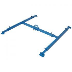 Autotwirler Bed Lift Kit Bare Steel