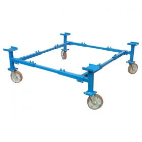 Autotwirler Classic Body Cart with 8IN Wheels Blue