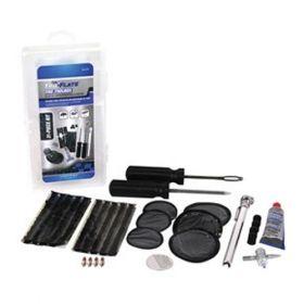 Tru-Flate Tire Patch and Plug Repair Kit 31 Piece