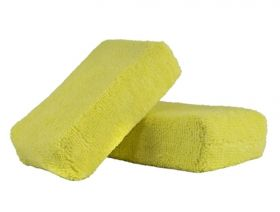 Chemical Guys Yellow MIC29902 Microfiber Applicator Premium Grade 2 Pack
