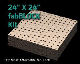 CertiFlat FB2424 fabBlock U-Weld Kit Welding Table