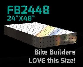 "CertiFlat FB2448 fabBlock U-Weld Kit Modular Welding Table 24"" x 48"""