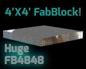 "CertiFlat FB4848 fabBlock U-Weld Kit Modular Welding Table 48"" x 48"""