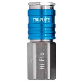 "Tru-Flate HI FLO Air Coupler, 1/4"" FNPT"