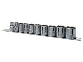 "Eastwood 3/8"" Drive Shallow SAE 10 Piece Socket Set"