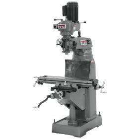 JET Step Pulley Milling Machine 115V 1Ph JVM-836-1