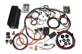 Painless Direct Fit Bronco Harness w/switches (1966-1977) - 28 Circuits