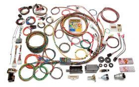 Painless Direct Fit F-Series Ford Truck Harness w/Switches (1967-1977) - 21 Circuits