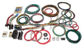 Painless Customizable Ford Color Coded Chassis Harness - 21 Circuits