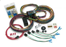 Painless Customizable Mopar Color Coded Chassis Harness - 21 Circuits