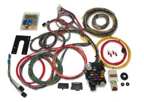 Painless Classic Plus Customizable Chassis Harness - GM Keyed Column - 28 Circuits