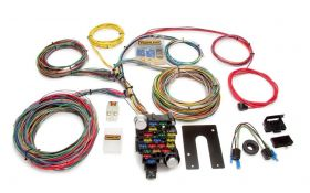 Painless Classic Plus Customizable Chassis Harness - Key In Dash - 28 Circuits