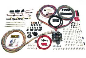 Painless 23 Circuit Harness - Pro-Series - Key In Dash - Grommet