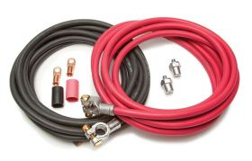 Painless Battery Cable Kit (16ft. Red & 16ft. Black Cables)