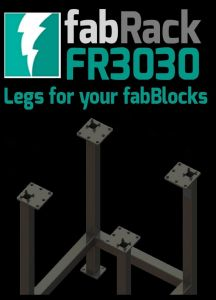 "Certiflat 30""X30"" FabRack for FabBlock"