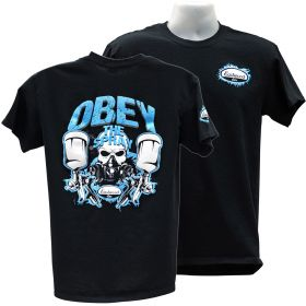 Eastwood Obey The Spray T-Shirt - Black