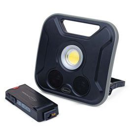 Eastwood Rechargeable COB LED Floodlight with Speaker