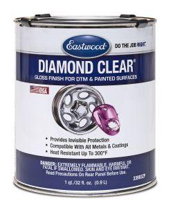 eastwood diamond clear paint