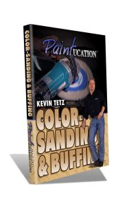 Color Sanding & Buffing Video-DVD
