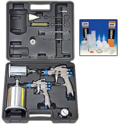 Devilbiss 2 Gun Spray Paint Kit & DeKups System