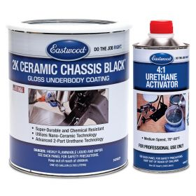 eastwood 2k ceramic chassis black gloss kit paint