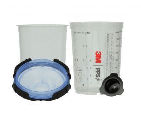 3M PPS Series 2.0 Midi Spray Cup System with 125 Micron Filter Kit 26312