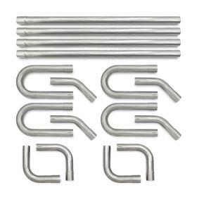 aluminized steel exhaust system universal kit eastwood