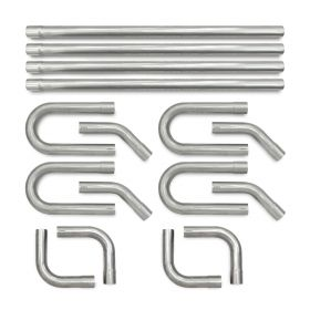 eastwood universal exhaust system kit aluminized steel