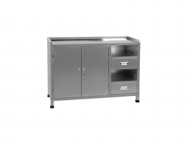 Tuxedo Distributors Paint Storage Mixing Cabinet & Table PSB-PSMCT