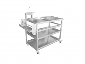 Tuxedo Distributors Paint Storage Mixing Table & Dispenser PSB-PSMTD