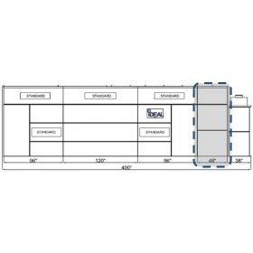 Tuxedo Distributors Side Down Draft and Semi Down Draft Paint Booth 48 Inch Extension Panel Kit Assembly