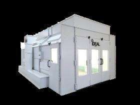 Tuxedo Distributors Side Down Draft Paint Booth 26L-14W-9H 3PH-230V PSB-SDD26B-3PH-230V-AK