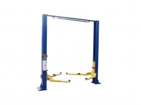 Tuxedo Distributors 9000 lb Two Post Clear Floor Lift - Symmetric TP9KSCX
