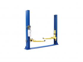 Tuxedo Distributors 9000 lb Two Post Floor Plate Lift - Symmetric TP9KFX