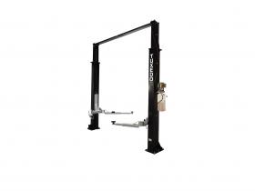 Tuxedo Distributors 9000 lb Two Post Clear Floor Lift - Asymmetric TP9KAC-TUX