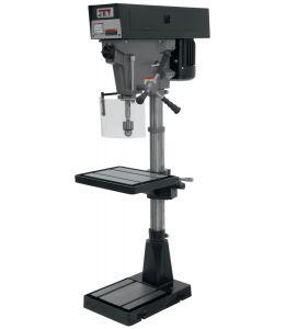 """JET Tools J-A3816, 15"""" 6-Speed Floor Model Drill Press 115/230V 1Ph 354500"""