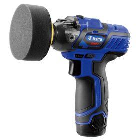 "12V 3"" Mini Cordless Pistol Polisher with 2 Batteries"