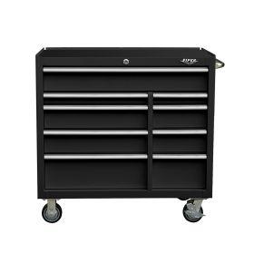 "Viper Storage Viper Tool Storage Premium Series 41"" 9 Drawer 18G Steel Rolling Tool Cabinet, Black V"