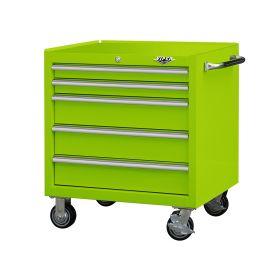 "Viper Storage Viper Tool Storage Premium Series 30"" 5-Drawer Roller, Lime Green V3005LGR"