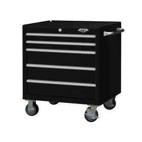"Viper Storage Viper Tool Storage Premium Series 30"" 5-Drawer Roller, Black V3005BLR"