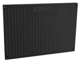 "Viper Storage Viper Tool Storage 48"" x 24"" Wall Mounted Peg Board V2448PBBL"